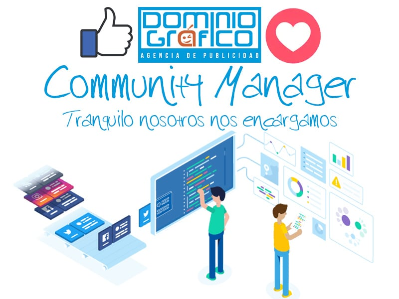 community manager dominio grafico