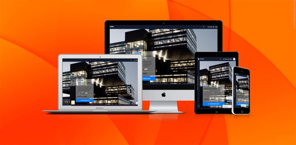 diseño de pagina web wordpress