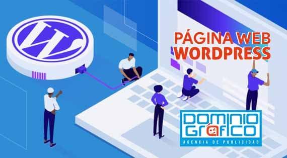 diseño de Página web WordPress